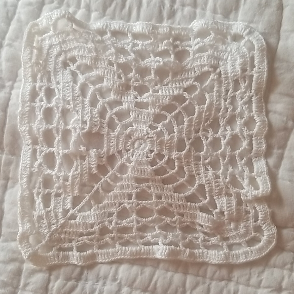 Hand Crafted Vintage Cotton Doilie